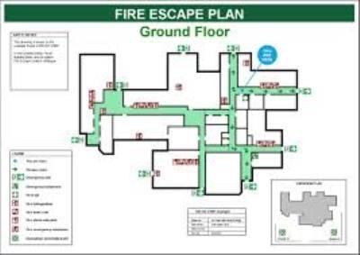 Fire escape plans for businesses